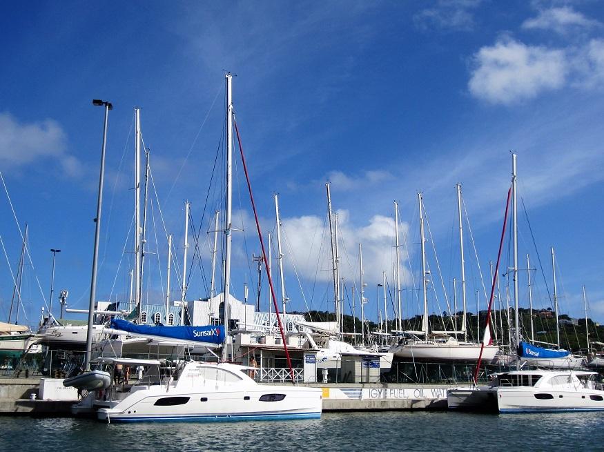Rodney Bay Marina, Saint Lucia