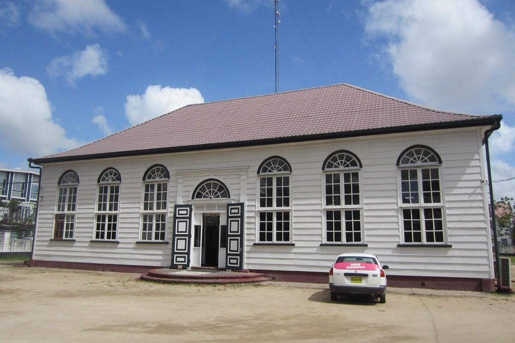 Zedek v' Shalom Synagogue, Paramaribo, Suriname