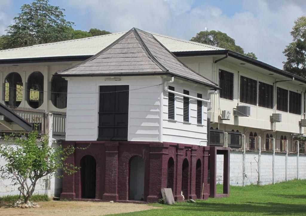 Classrooms, Neve Shalom Synagogue, Paramaribo, Suriname