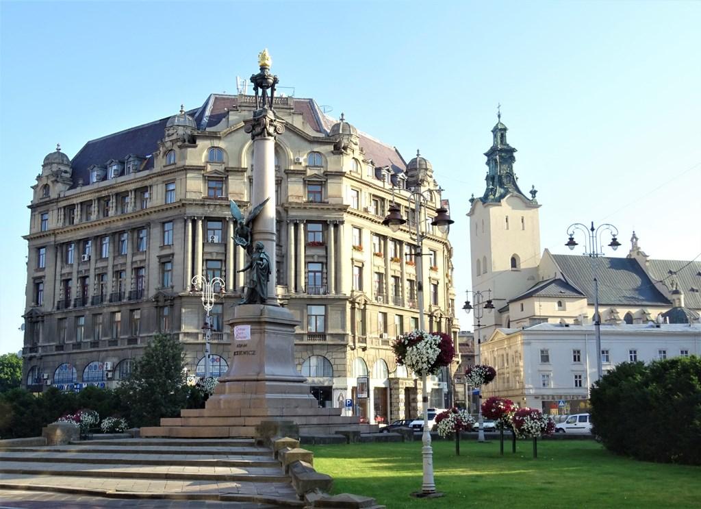 Ploshcha Rynok, Market Square, L'viv, Ukraine