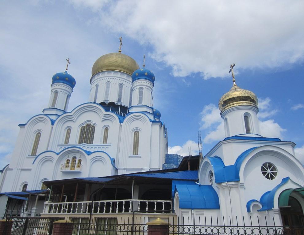 Cathedral of Christ the Savior, Orthodox Church, Cyril and Methodius Square, Uzhhorod, Ukraine
