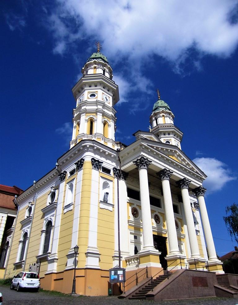 Greek Catholic Holy Cross Cathedral, Uzhhorad, Ukraine