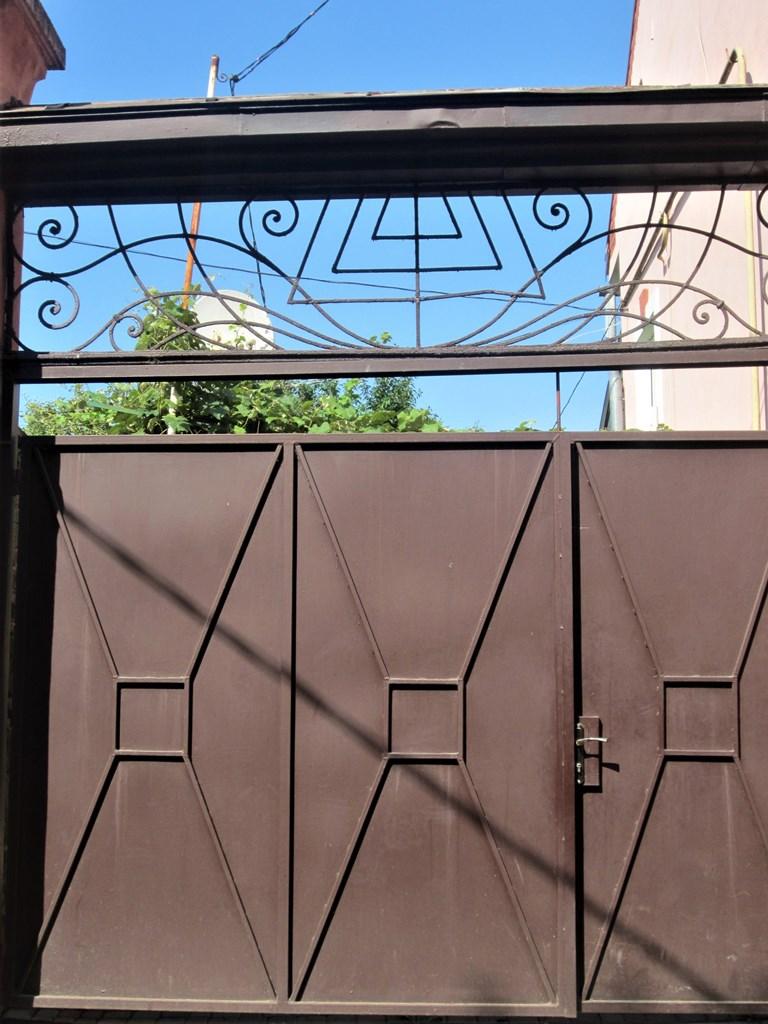 Menorah Gate, Uzhhorad, Ukraine