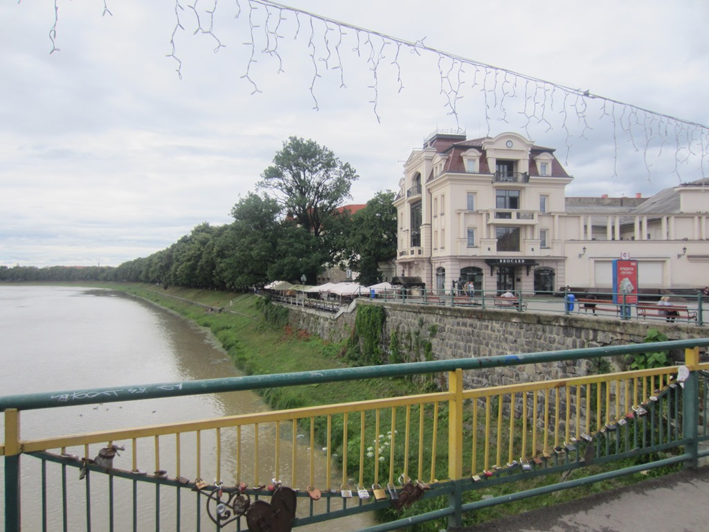 Uzh (Snake) River, Uzhhorod, Ukraine