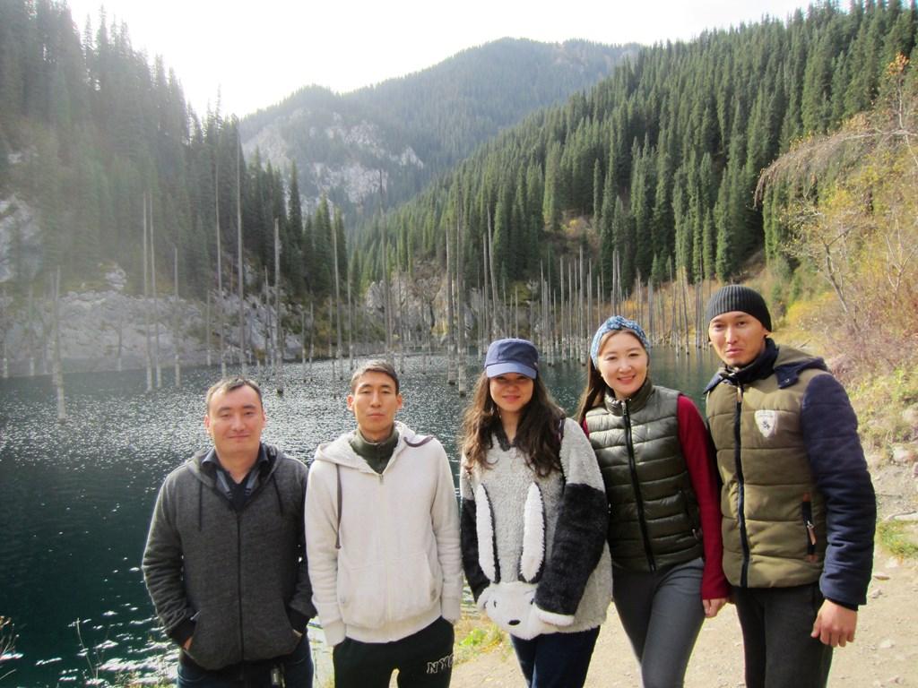 Kaiyndy Lake, Kazakhstan