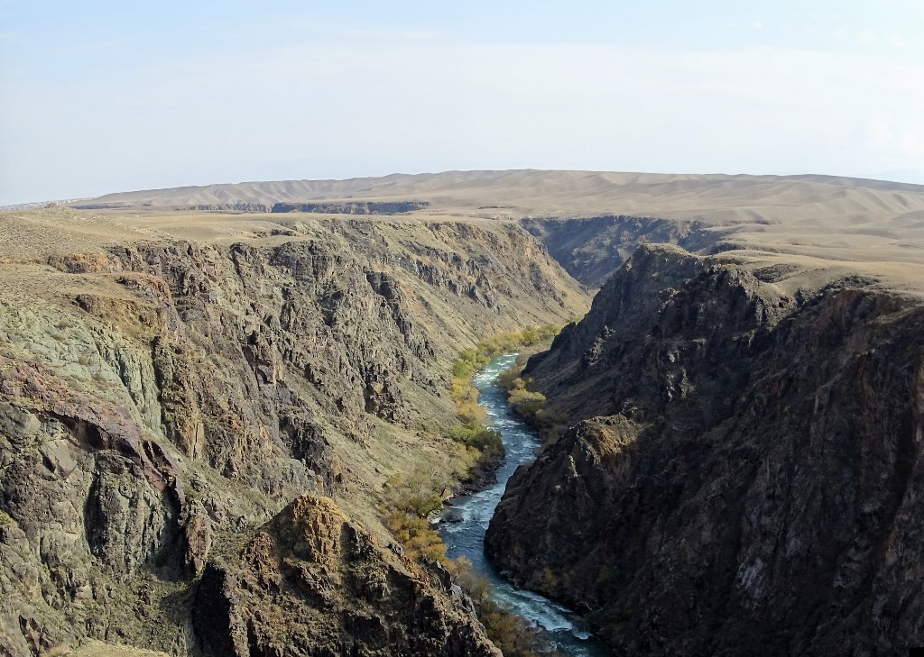 Black Canyon, Almaty Region, Kazakhstan