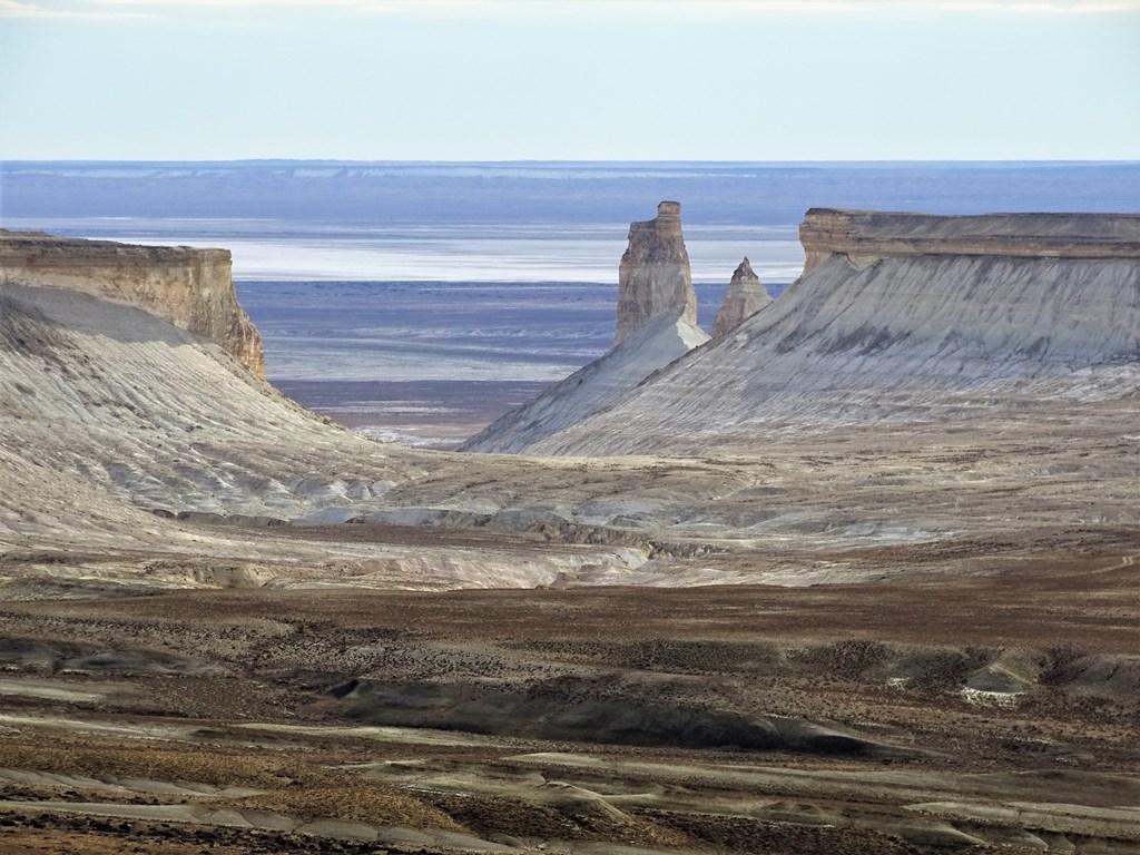 Boszhira Valley, Mangystau, Kazakhstan