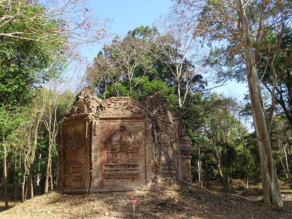 Prasat Yeai Poan, Sambor Prei Kuk, Kompong Thom, Cambodia