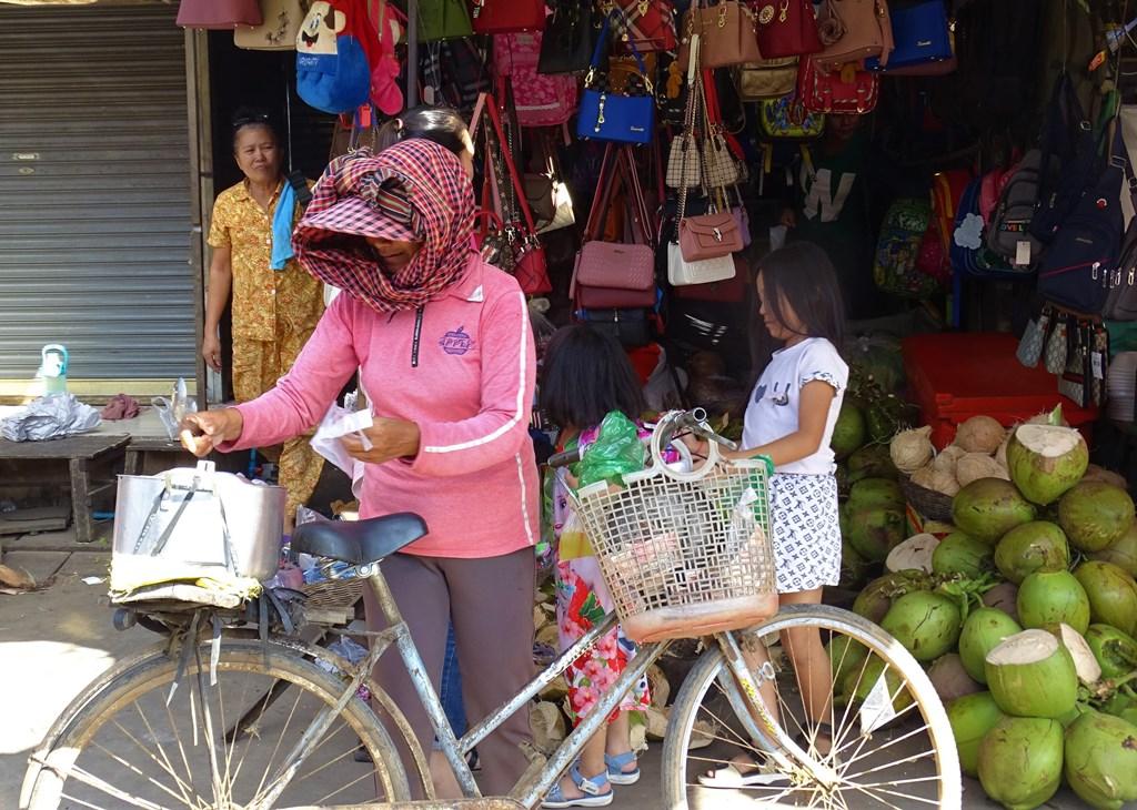 Market, Kampong Thom, Cambodia