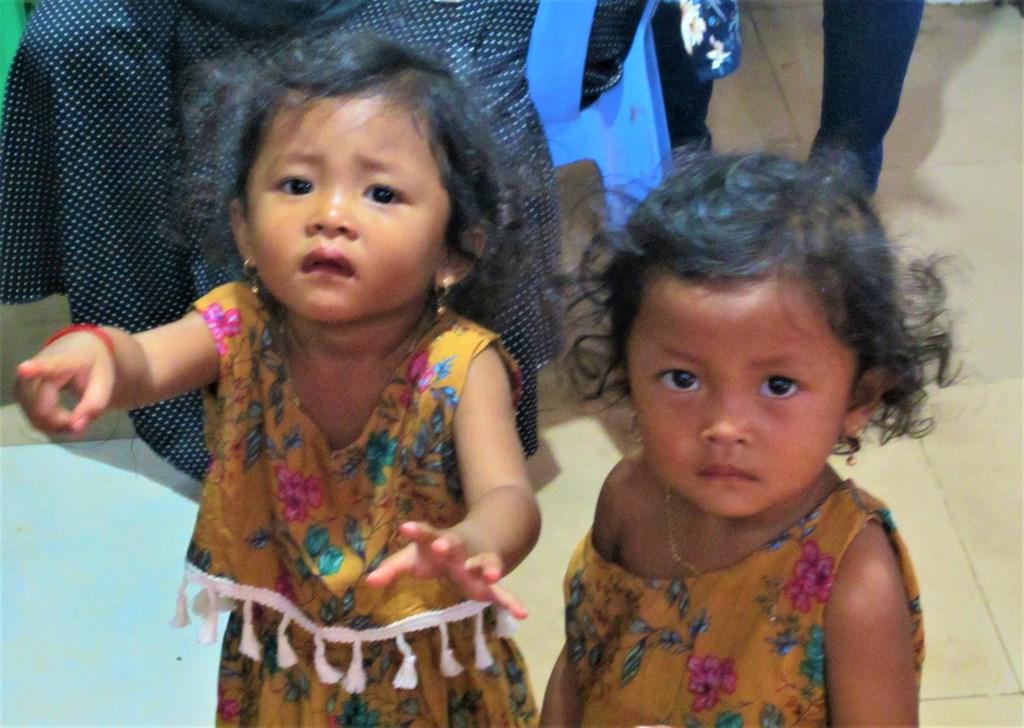 Twins, Market, Kampong Thom, Cambodia