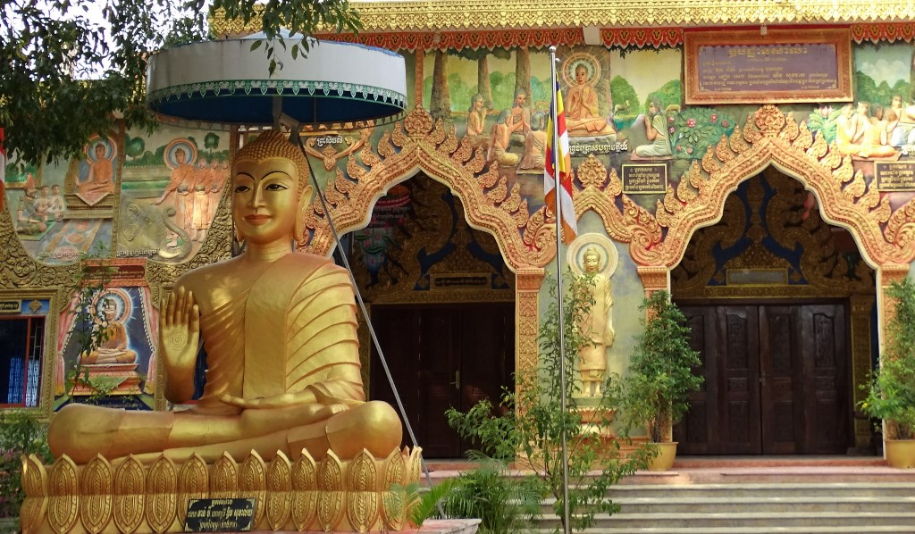 Pagoda Wat Kuh Nokor, Kampong Thom, Cambodia