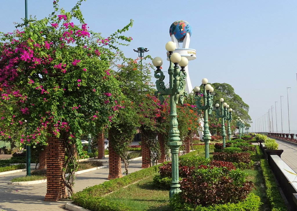 Peace Park, Kampong Cham, Cambodia