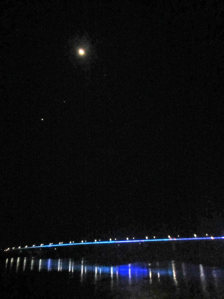 The Moon Over The Mekong, Kampong Cham, Cambodia
