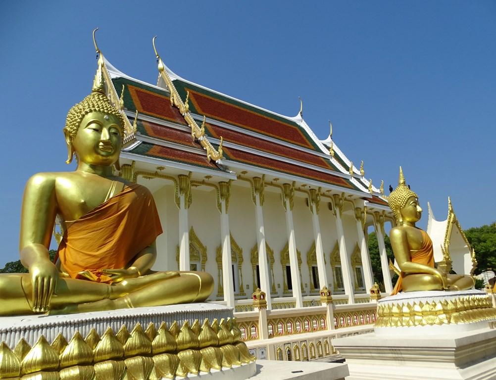 Wat Si U Phalaram, Kanchanaburi, Thailand