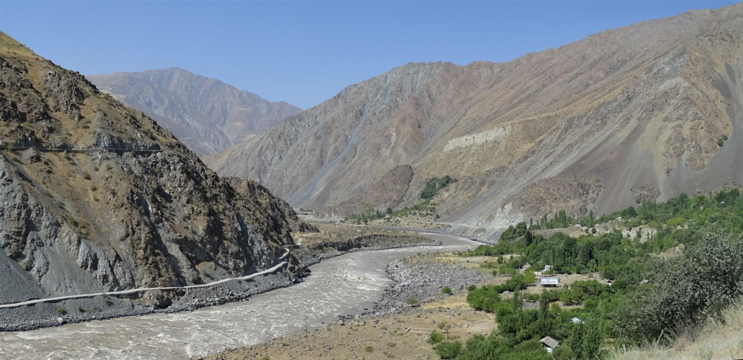 Panj River, Rushan Valley, Tajikistan