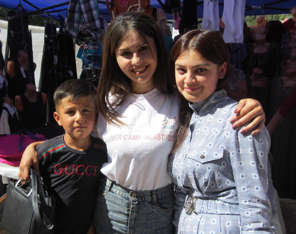 Market, Chorug, Tajikistan