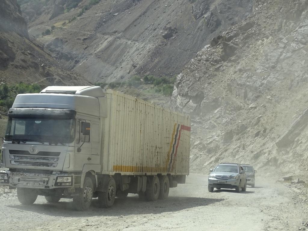 Traffic in Tajikistan