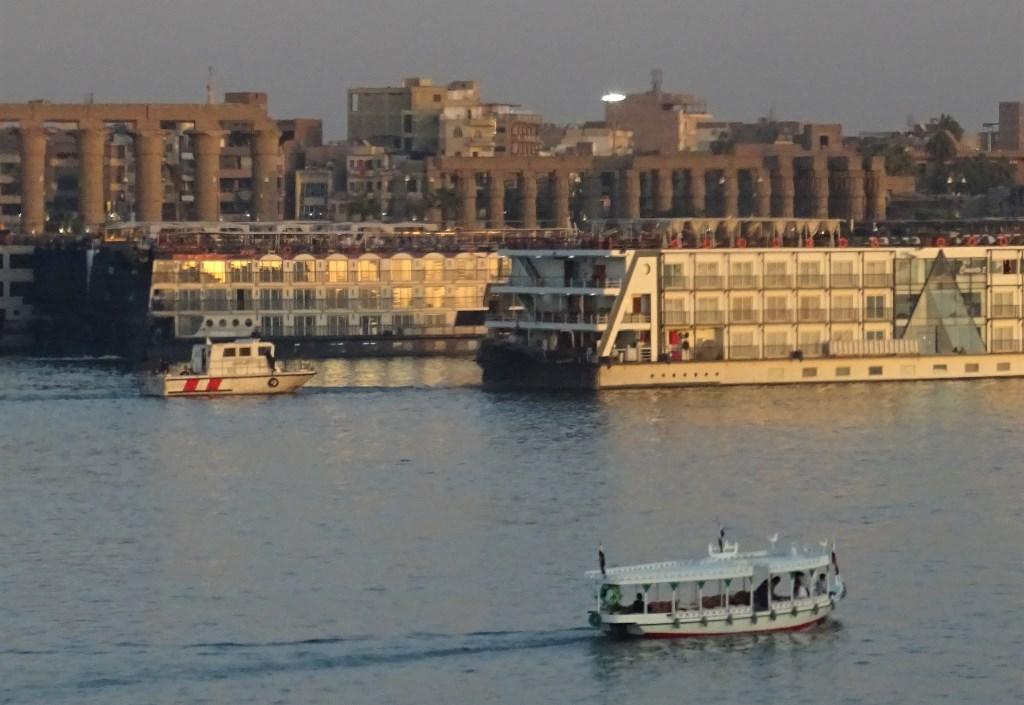 Cruise Ships, The Nile, Luxor, Egypt