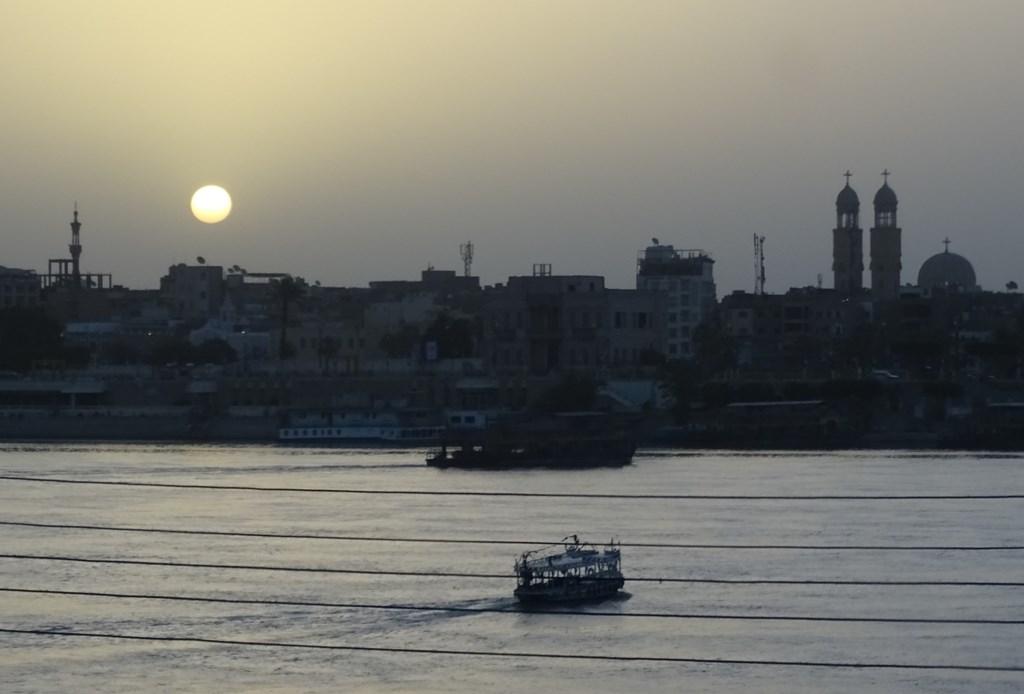 Sunrise, The Nile, Luxor, Egypt