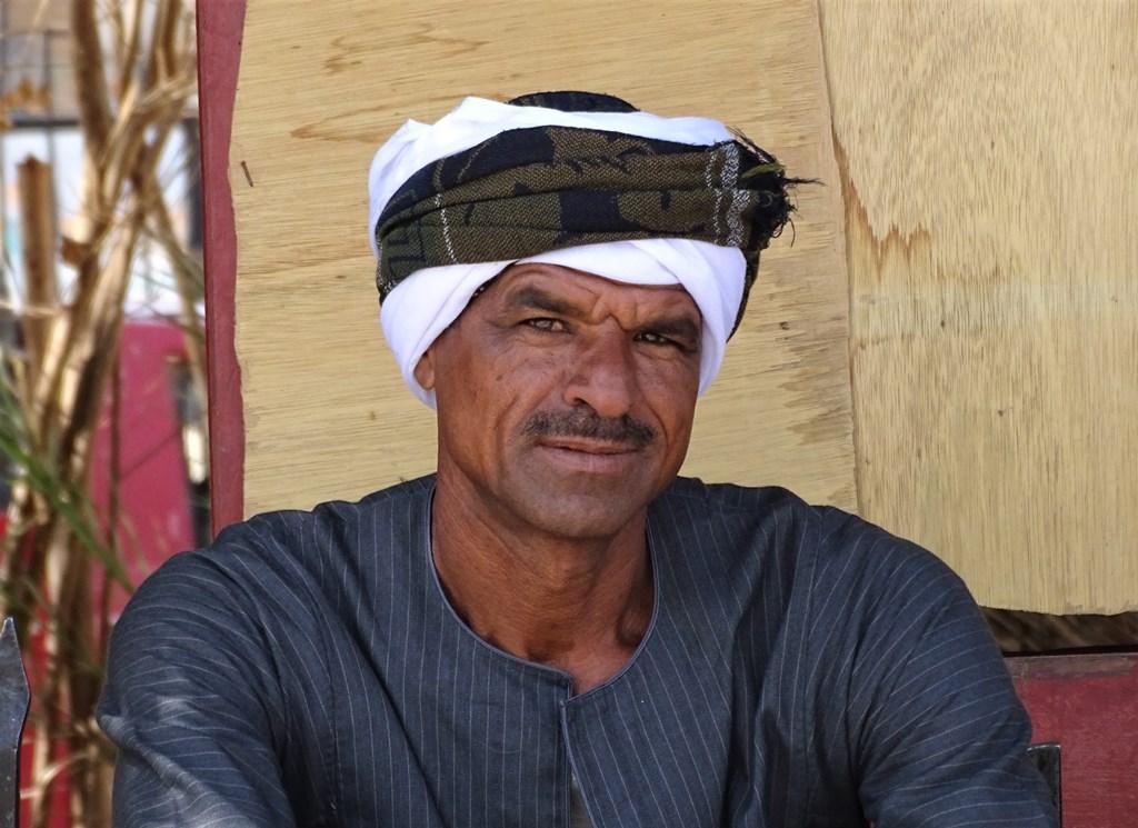 Taxi Driver, Gezira El Bairat, Luxor, Egypt
