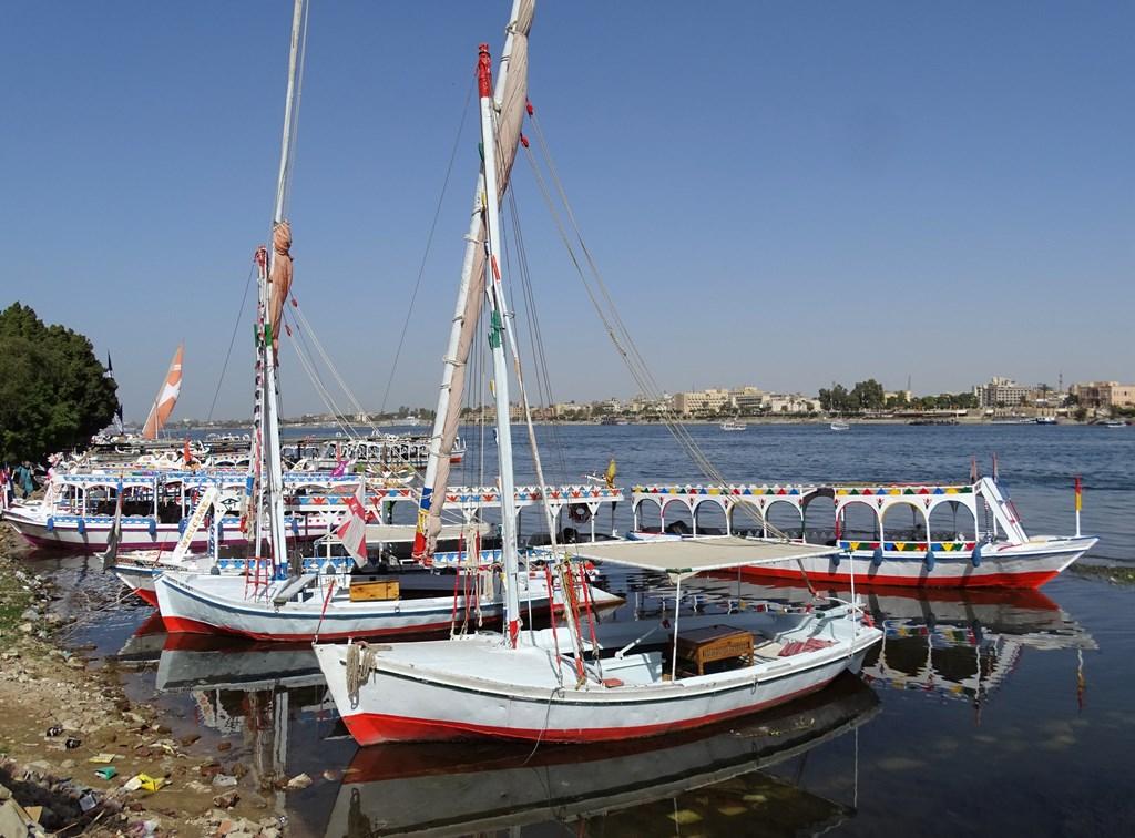 The Nile, Luxor, Egypt