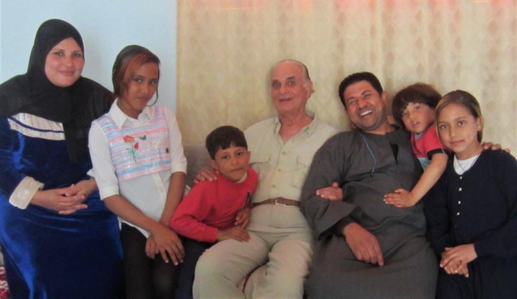 Kareem and Family, Gezira El Bairat, Luxor, Egypt