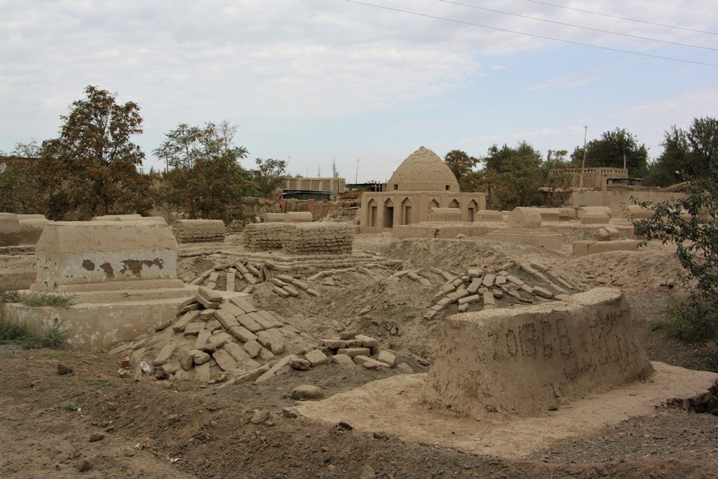 Cemetery, Turpan Village, Xinjiang, China