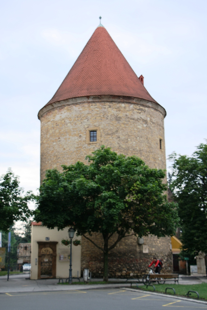 Medieval Fortress Tower, Zagreb, Croatia