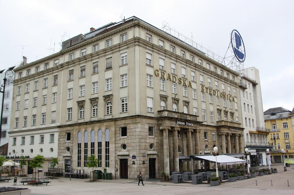 Gradska Štedionica, City Savings, Zagreb, Croatia