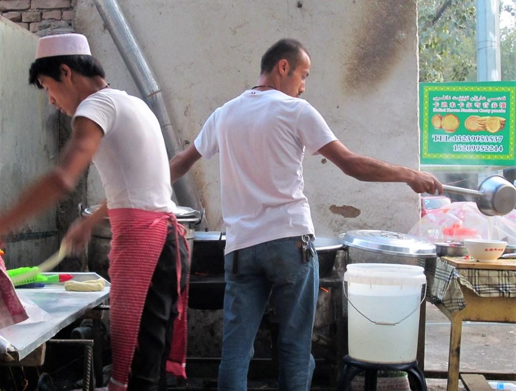 Noodle and Kebob Shop, Turpan Village, Xinjiang, China