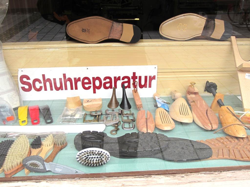 Shoe Repair, Ulm, Germany
