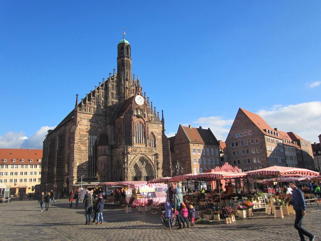 Frauen Kirche, Church of Our Lady, Nuremberg, Germany