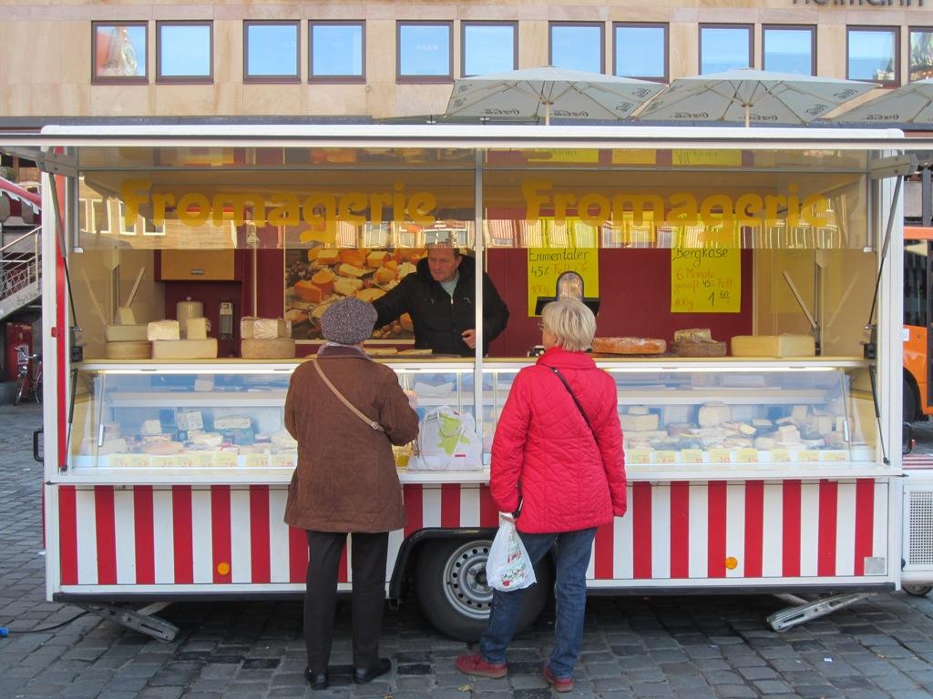 Hauptmarkt, Main Market Square, Nuremberg, Germany