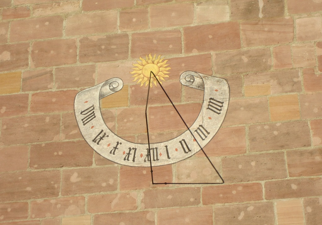 Sundial, Nuremberg, Germany