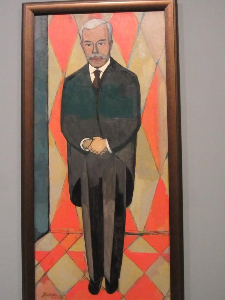 Xan Krohn, Portrait of Sergei Shchukin