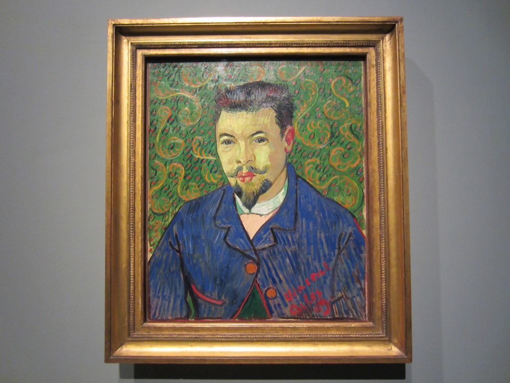Self Portrait, Vincent Van Gough