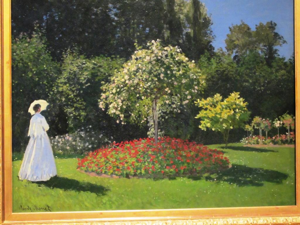 Woman in the Garden, Claude Monet