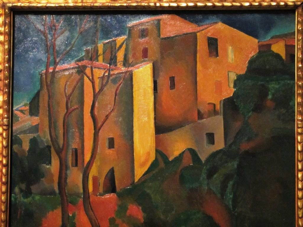 Ancient Quarter of Cagnes, André Derain
