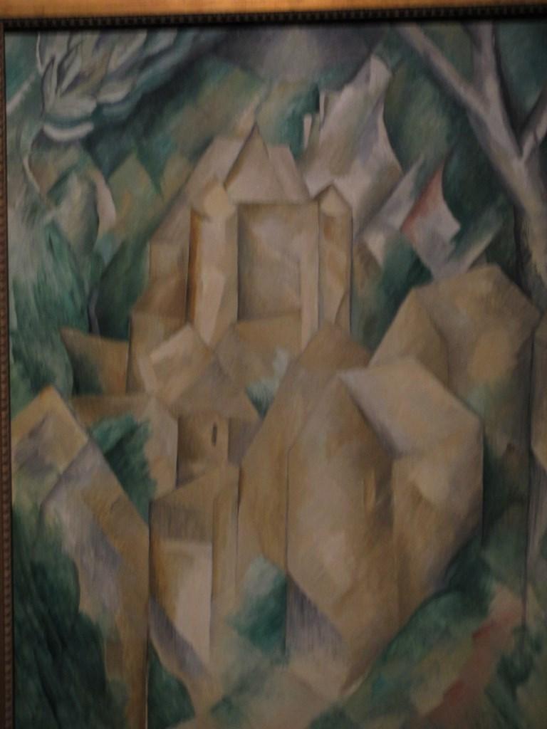 The Castle: La Roche-Guyon, Georges Braque