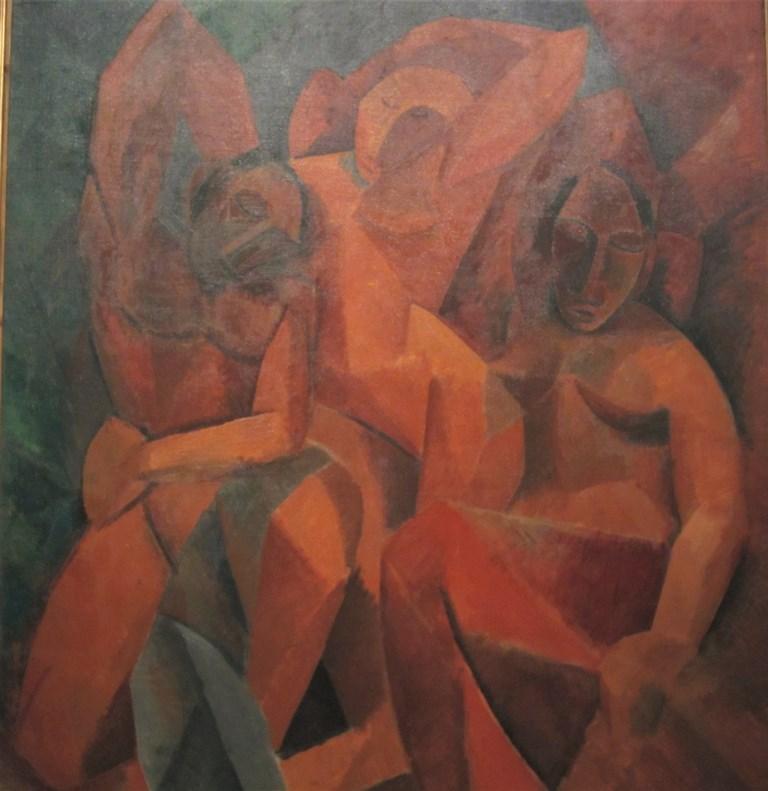 Three Women, Pablo Picasso