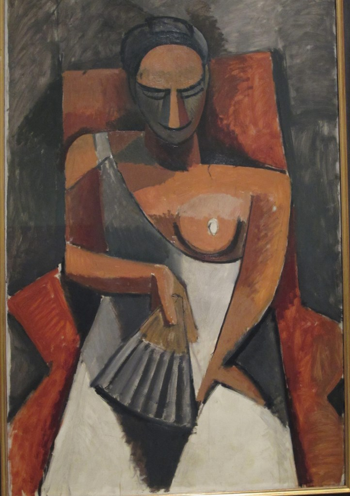 Lady with a Fan, Pablo Picasso
