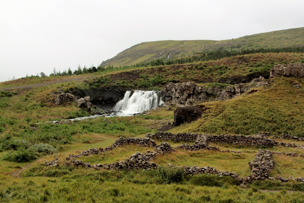 Fossarrett, West Iceland