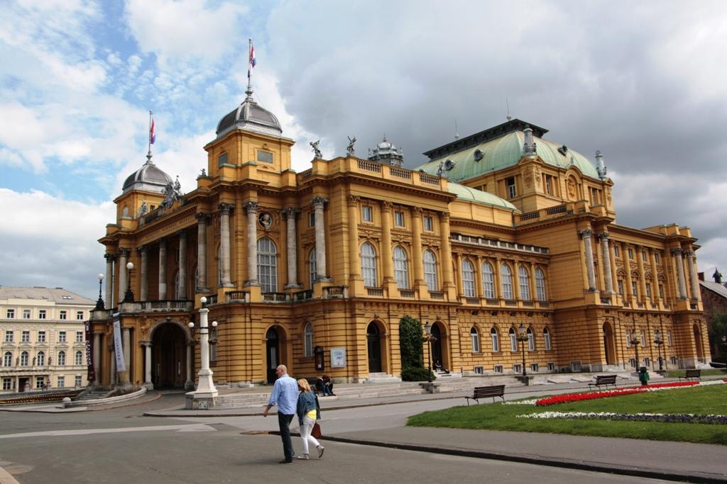 Croatian National Theatre, Zagreb, Croatia