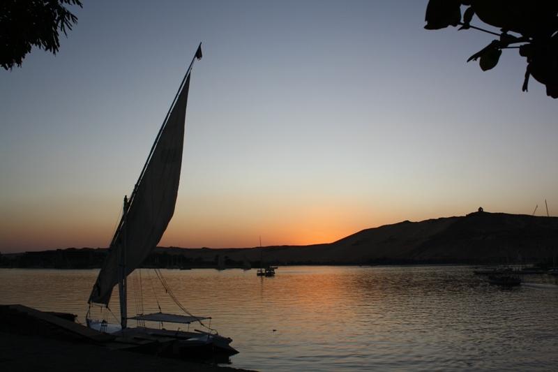 The Nile, Aswan, Egypt