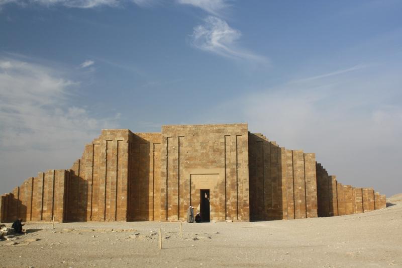 Entrance, Djoser Complex, Saqqara, Egypt