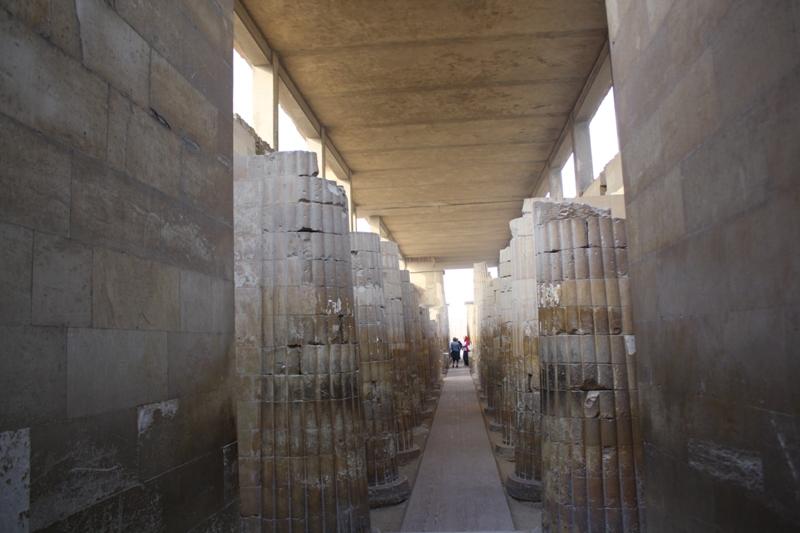 Hall Colonnade, Djoser Complex, Saqqara, Egypt