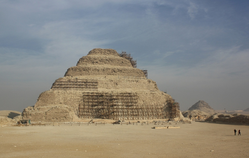 Step Pyramid, Djoser, Egypt