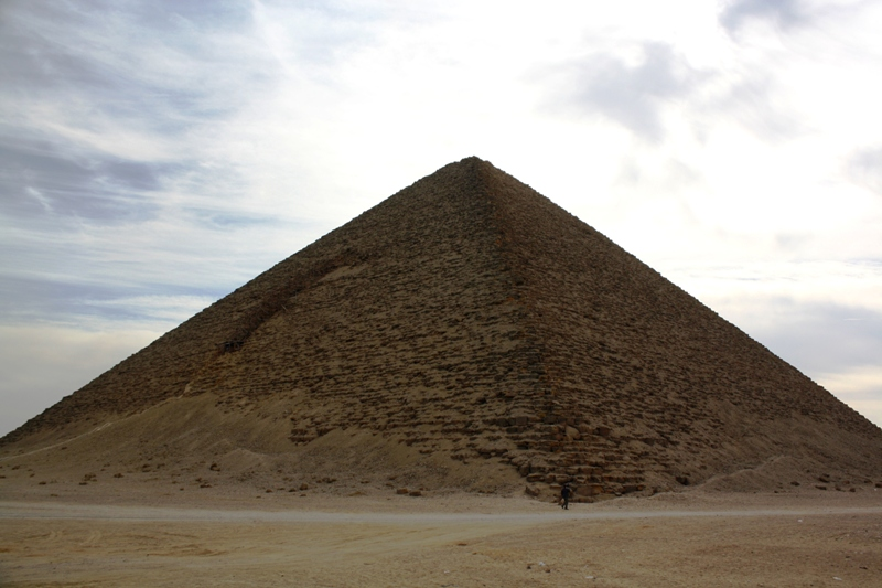Red Pyramid, Saqqara, Egypt