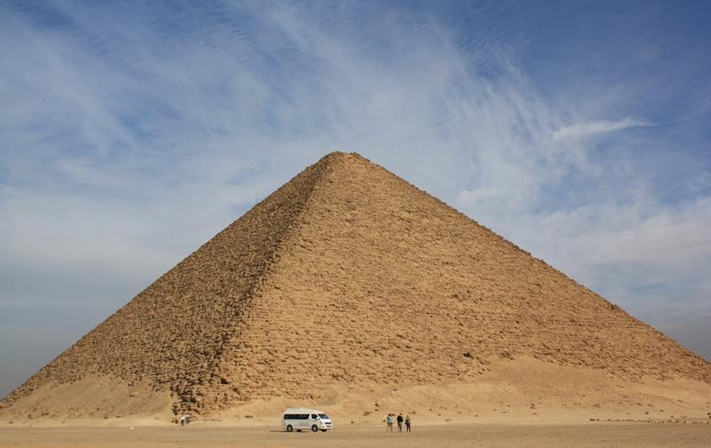 """Snefru""""s Red Pyramid, Saqqara, Egypt"""