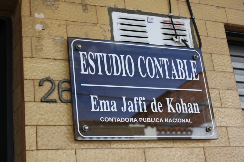 Office of Ema Jaffi de Kohan, Salta, Argentina